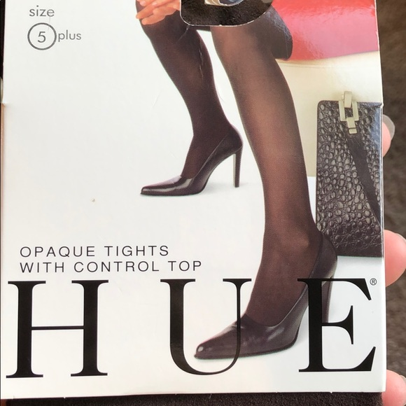 Bottle Green NWT Hue 3D Diamond Tights w// Control Top Size 1 Color